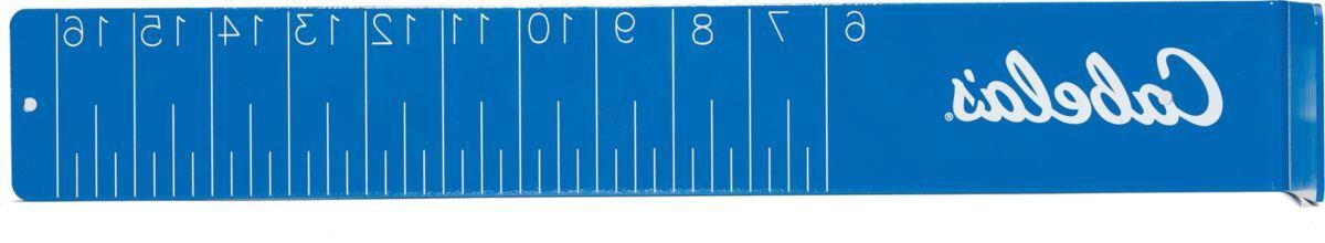 Cabela's Aluminum Fish-Measuring Boards