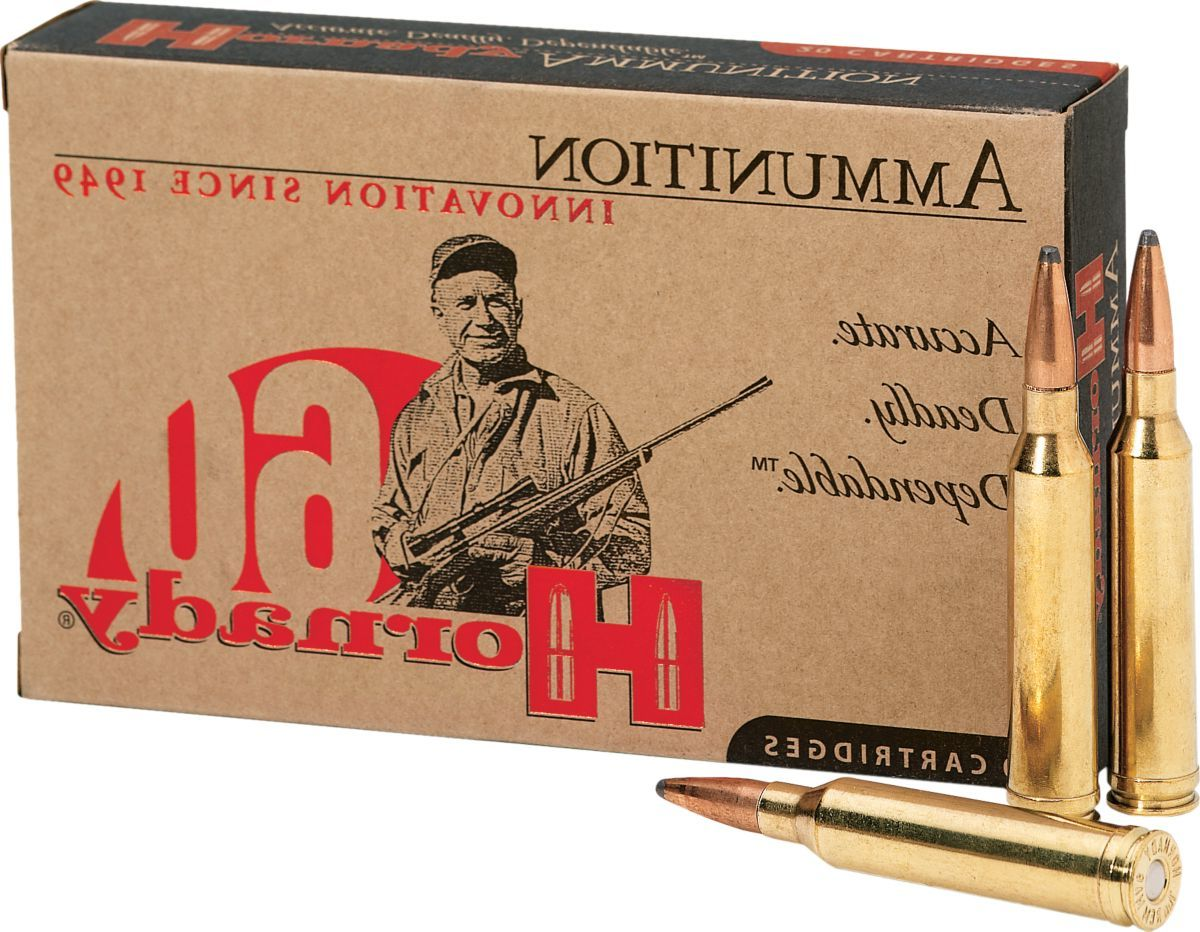 Hornady® Rifle Ammunition – Per Box