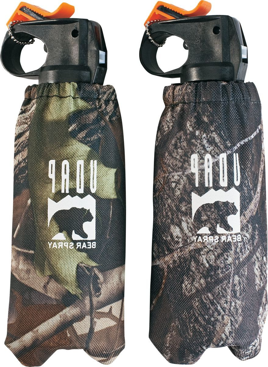 UDAP Bear Spray Two-Pack with Camo Holsters