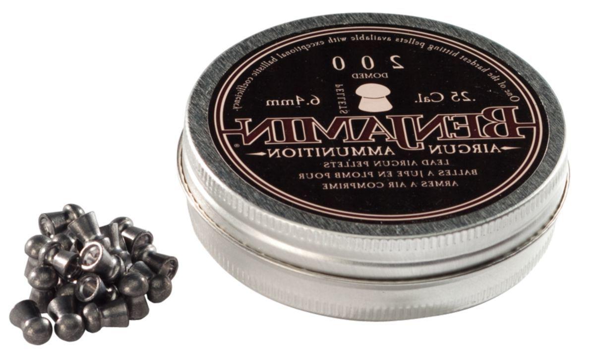 Benjamin® Premier Domed .25-Caliber Pellets