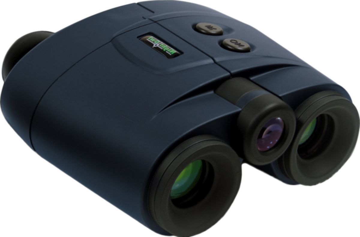 Night Owl 2X Fixed-Focus Binoculars