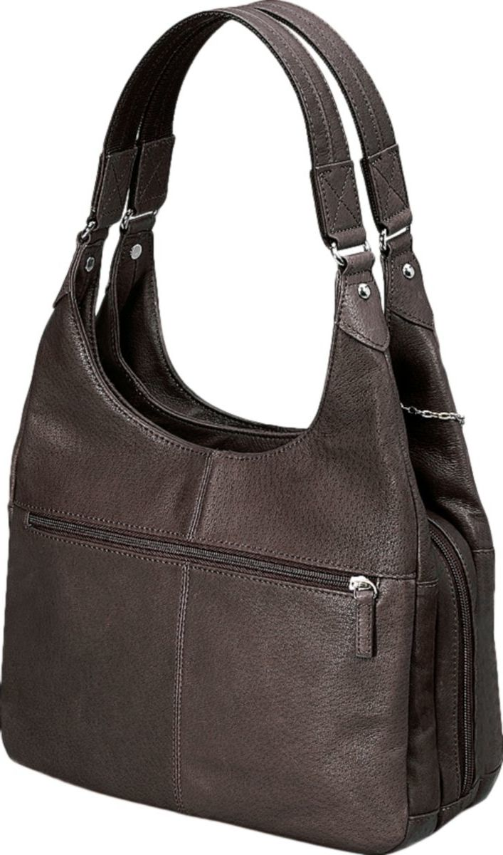 Gun Tote'n Mamas™ Concealed-Carry Pleated Slouch Tote