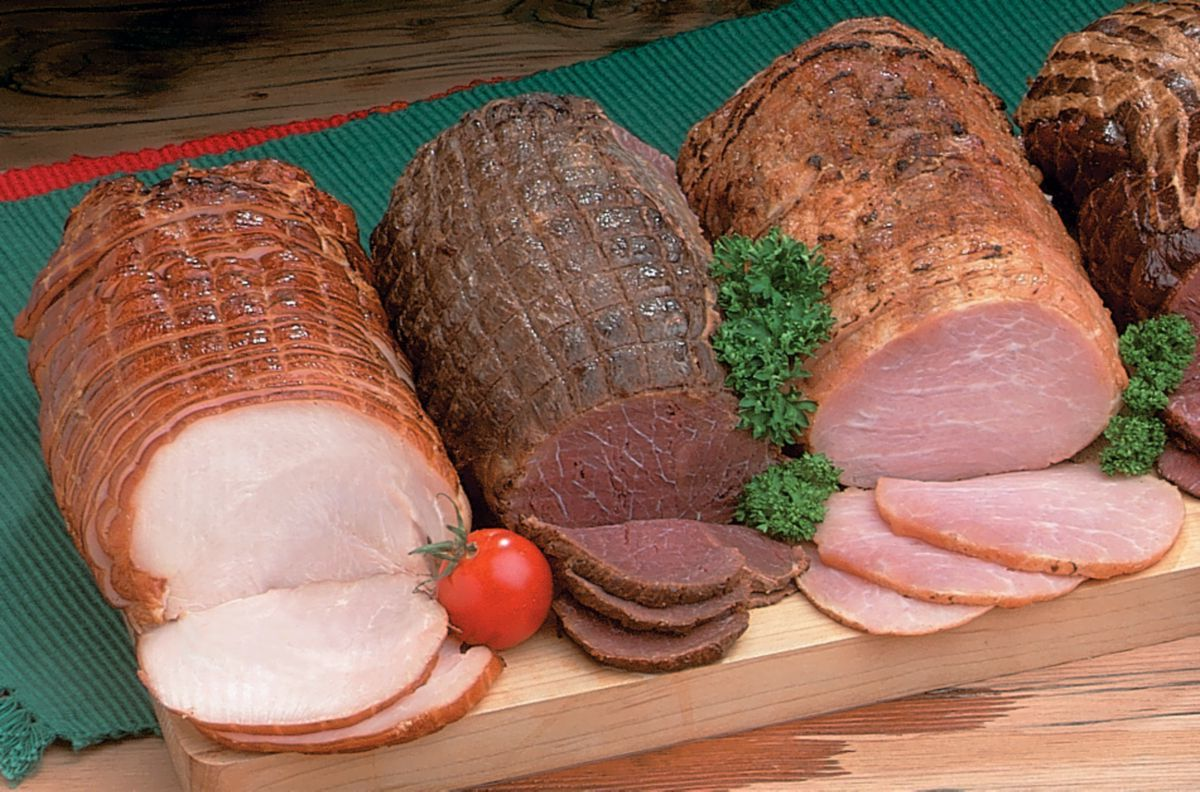 Cabela's Smoked Ham, Beef and Turkey Combo