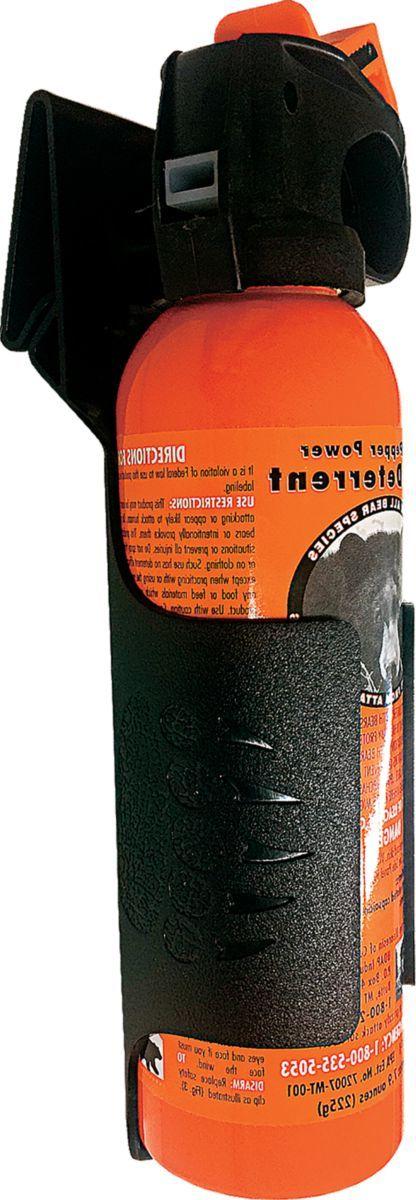 UDAP Pepper Power® Safety Orange Bear Spray with Griz Guard Holster®