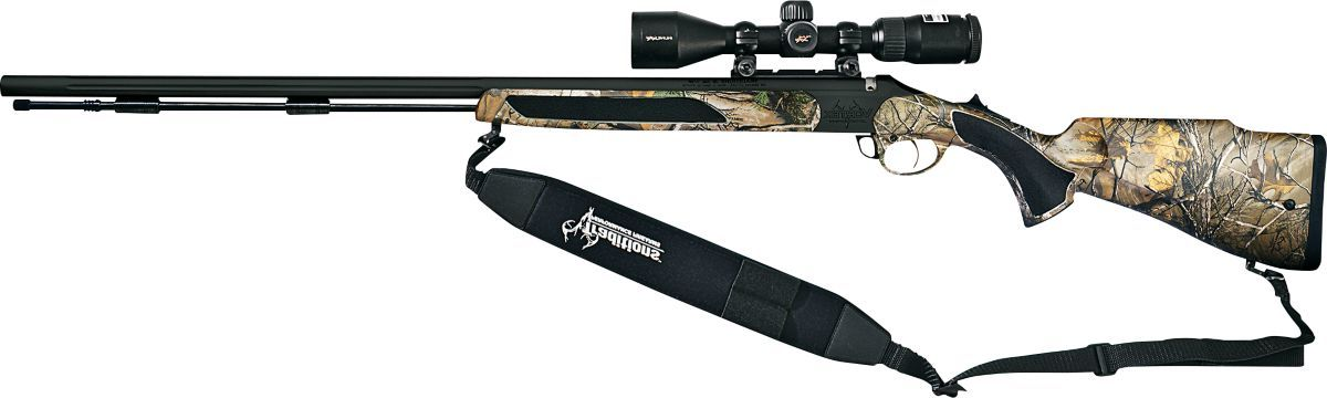Traditions™ The Crush Vortek™ StrikerFire™ Muzzleloader-Nitride/Realtree XTRA with Nikon 3-9x40 InLine XR Scope and Gun Case Package