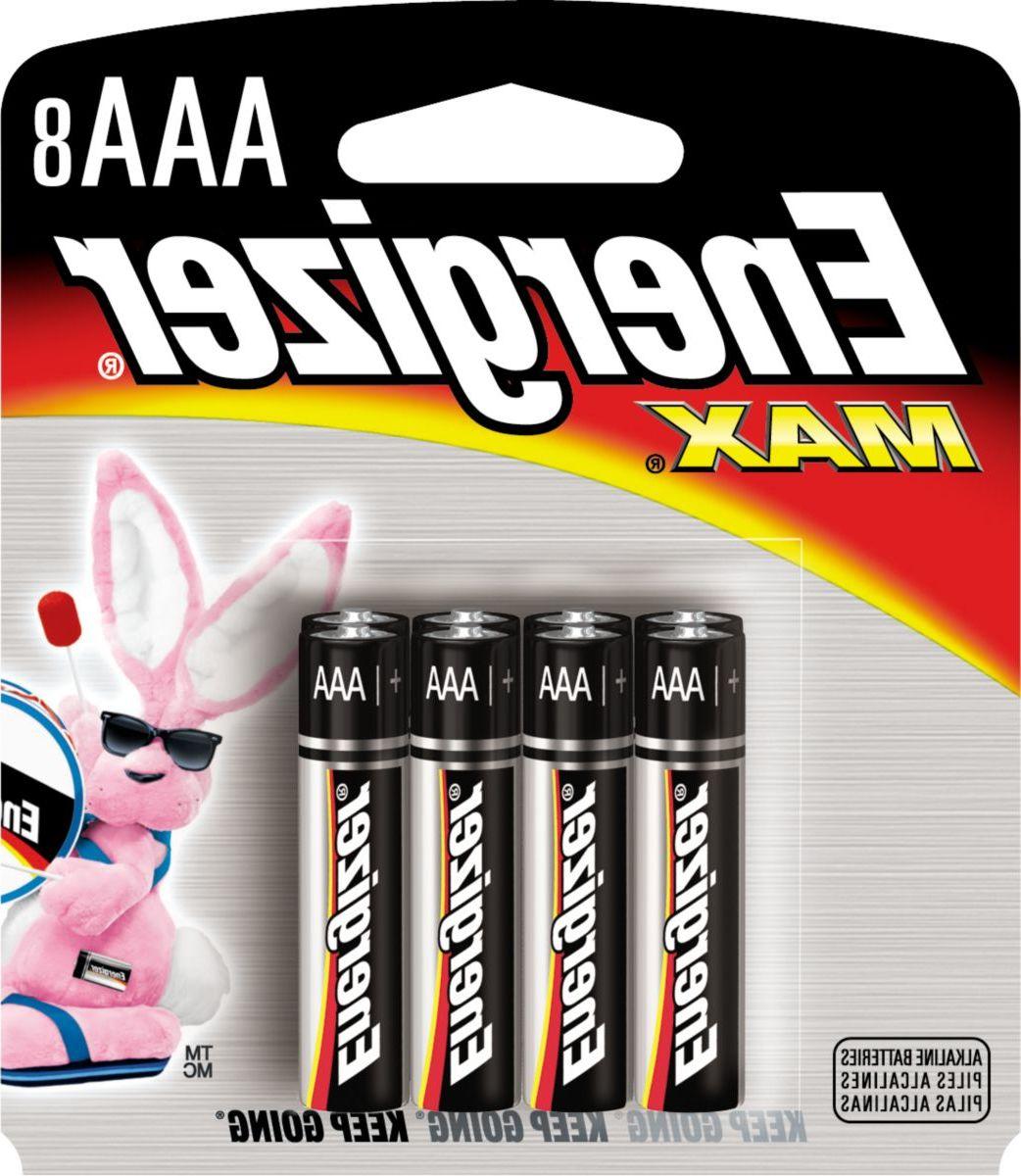 Energizer® Max® AAA Alkaline Batteries