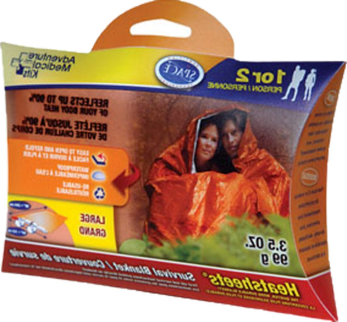 Adventure Medical Kits S.O.L. Two-Person Survival Blanket
