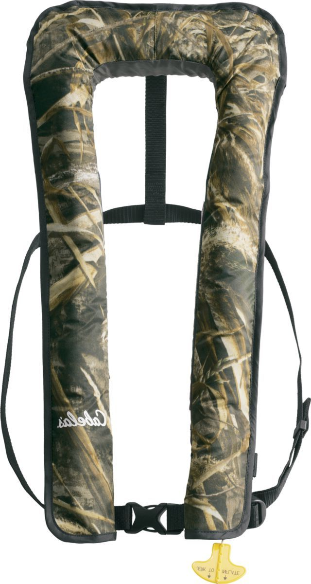 Cabela's Essential 2500 Manual Inflatable PFD – Realtree MAX-5®