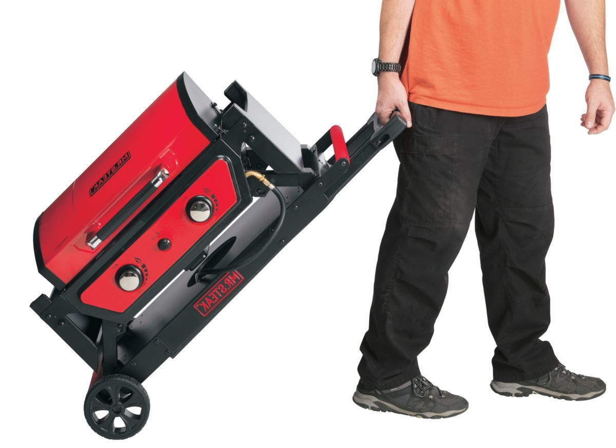 Mr. Steak® Portable Grill Cart