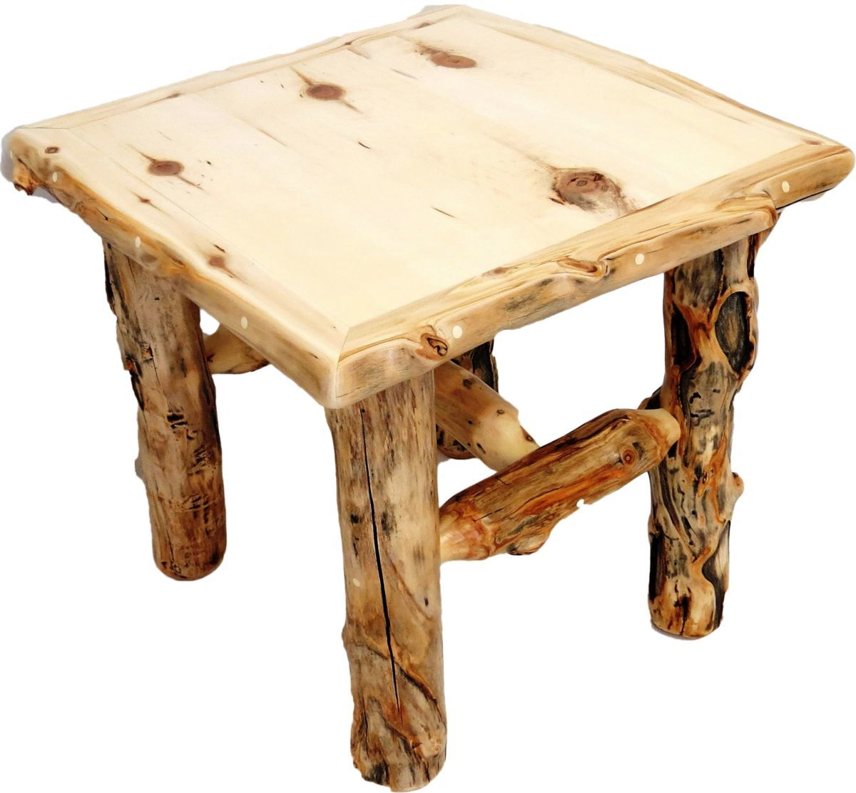 Mountain Woods Furniture® Aspen Grizzly End Table