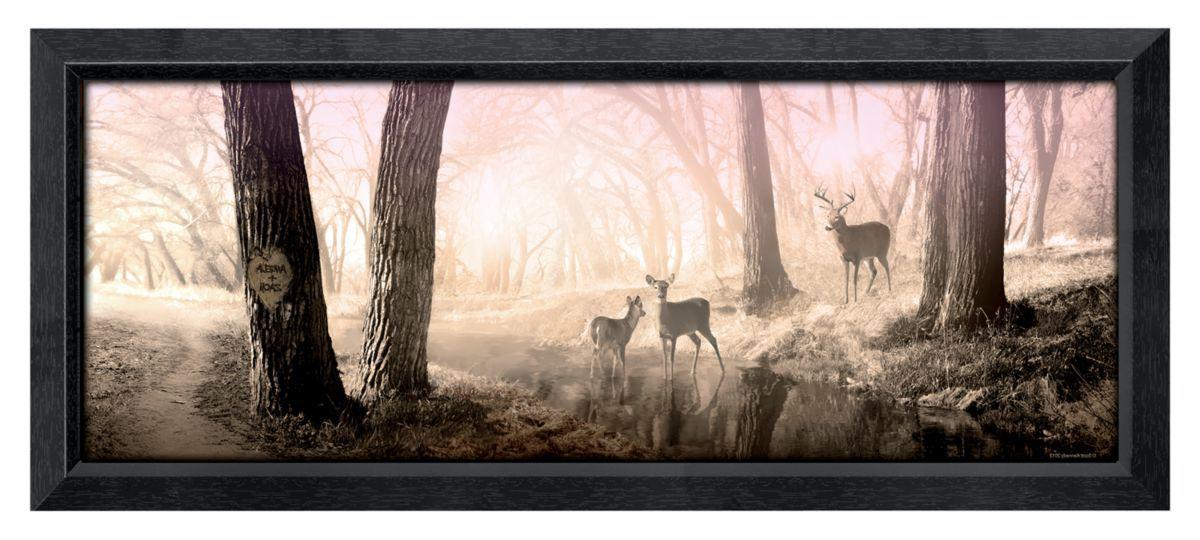 Peaceful Morning Framed Personalized Artwork