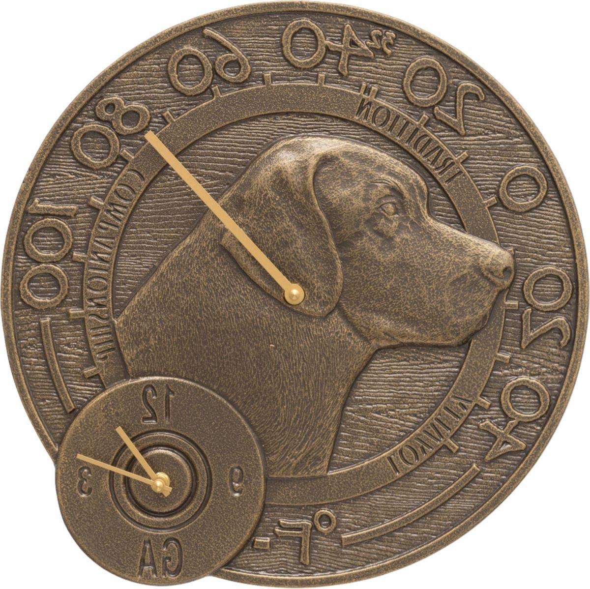 Whitehall Lab Thermometer Clock