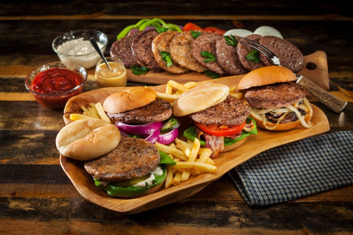 Cabela's Outdoor Burger Medley