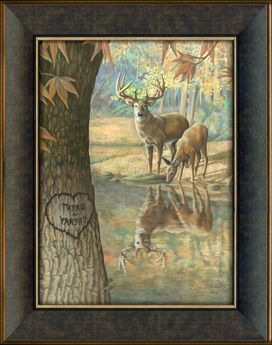 Kennedys Personal Prints Personalized Deer To My Heart Print – Large