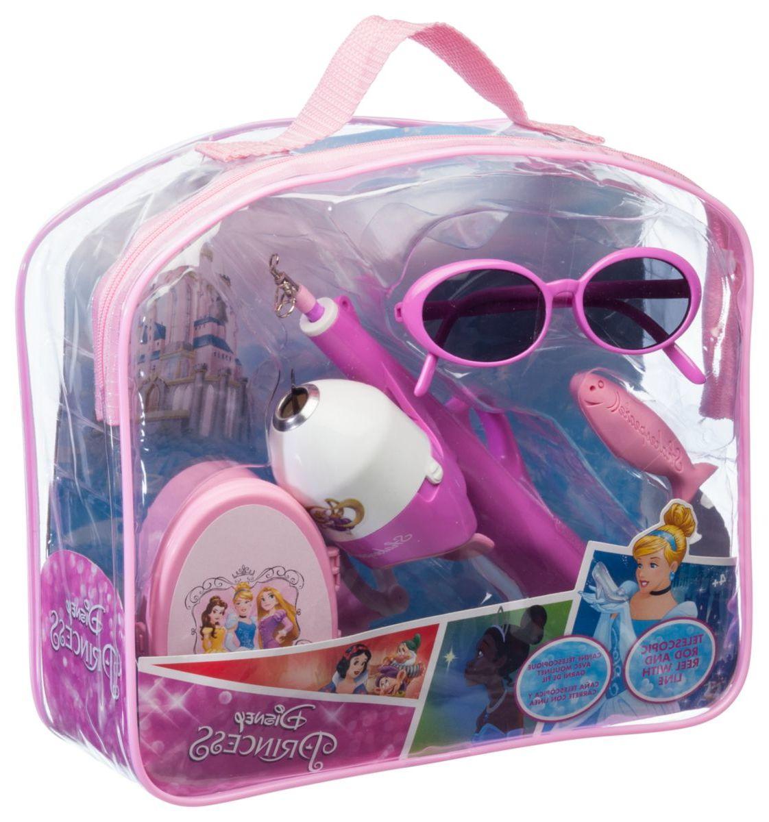 Shakespeare® Kids' Disney® Princess Rod and Reel Backpack Fishing Kit