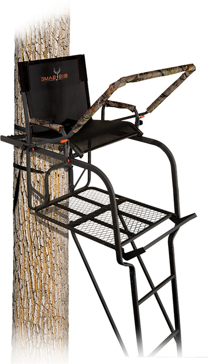 Big Game Treestands The Hunter HD 1.5 Ladder Stand