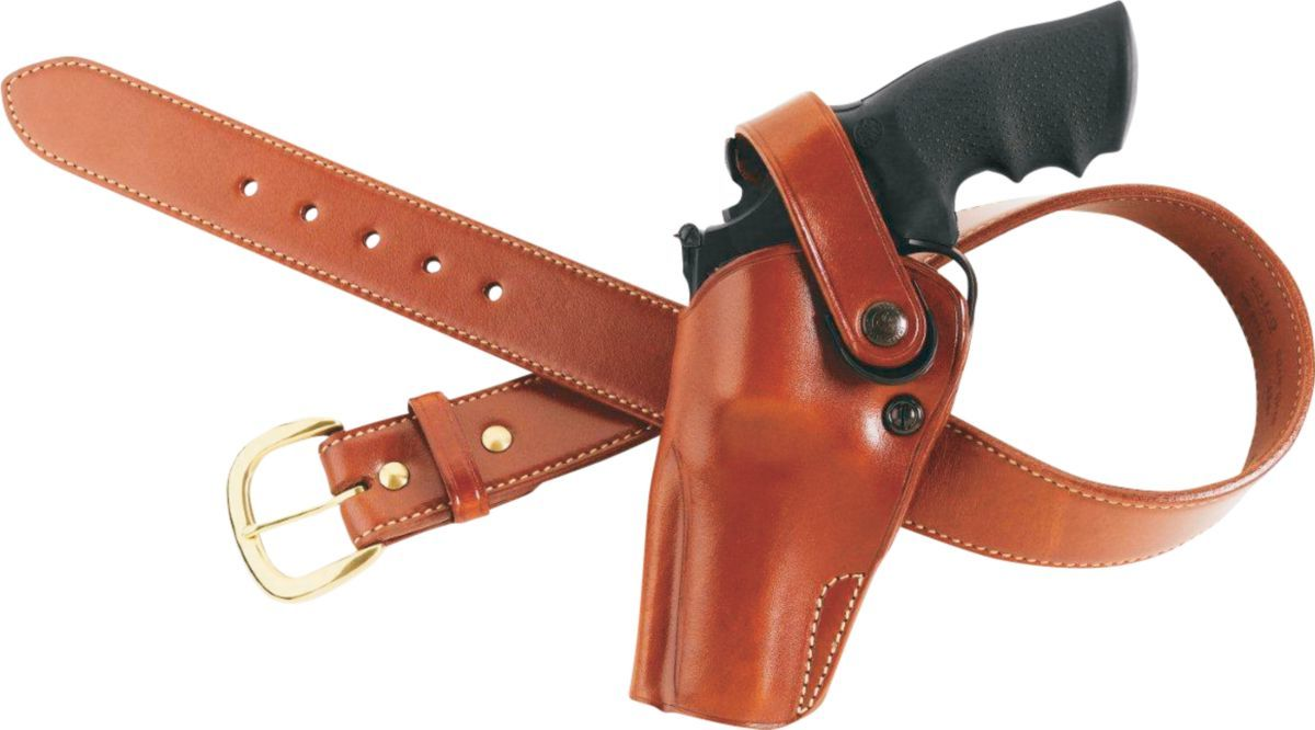 Galco Dual Action Outdoorsman Leather Holster