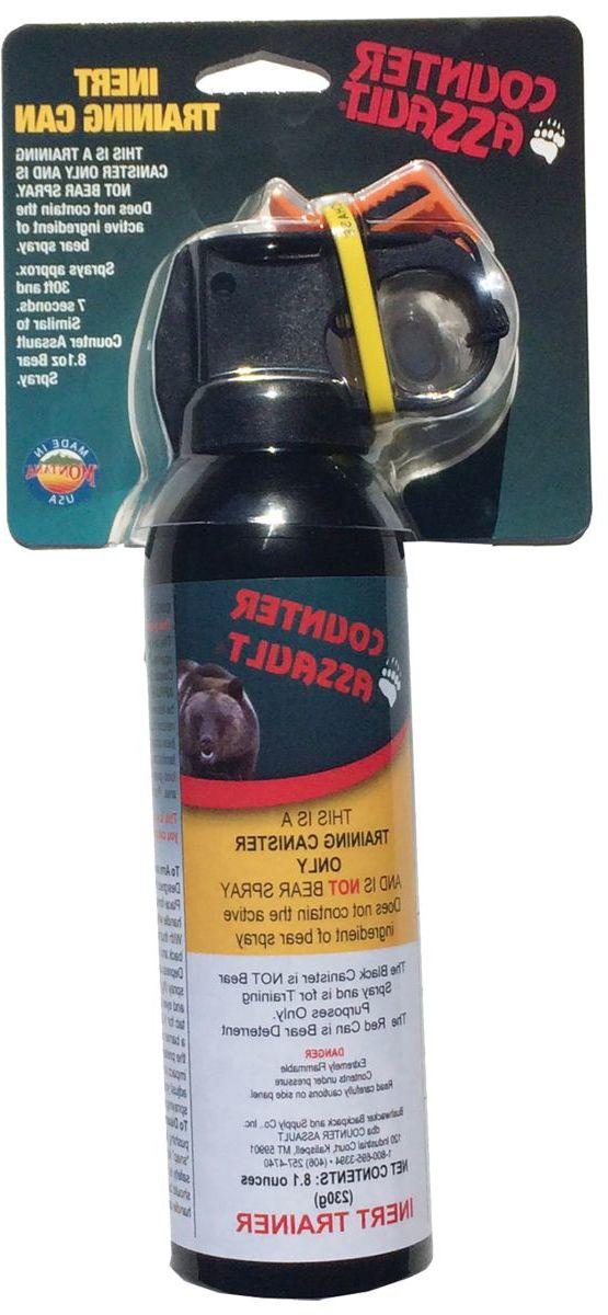 Counter Assault® Inert Bear Spray Training Canister