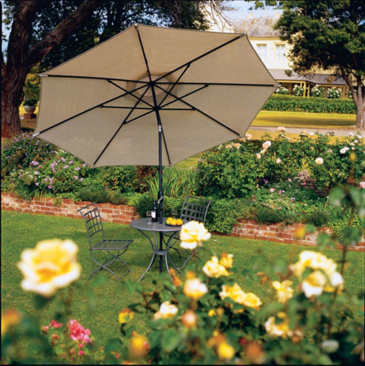 Coolaroo 11-Ft. Market Umbrella