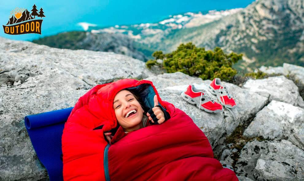 ladies sleeping bag