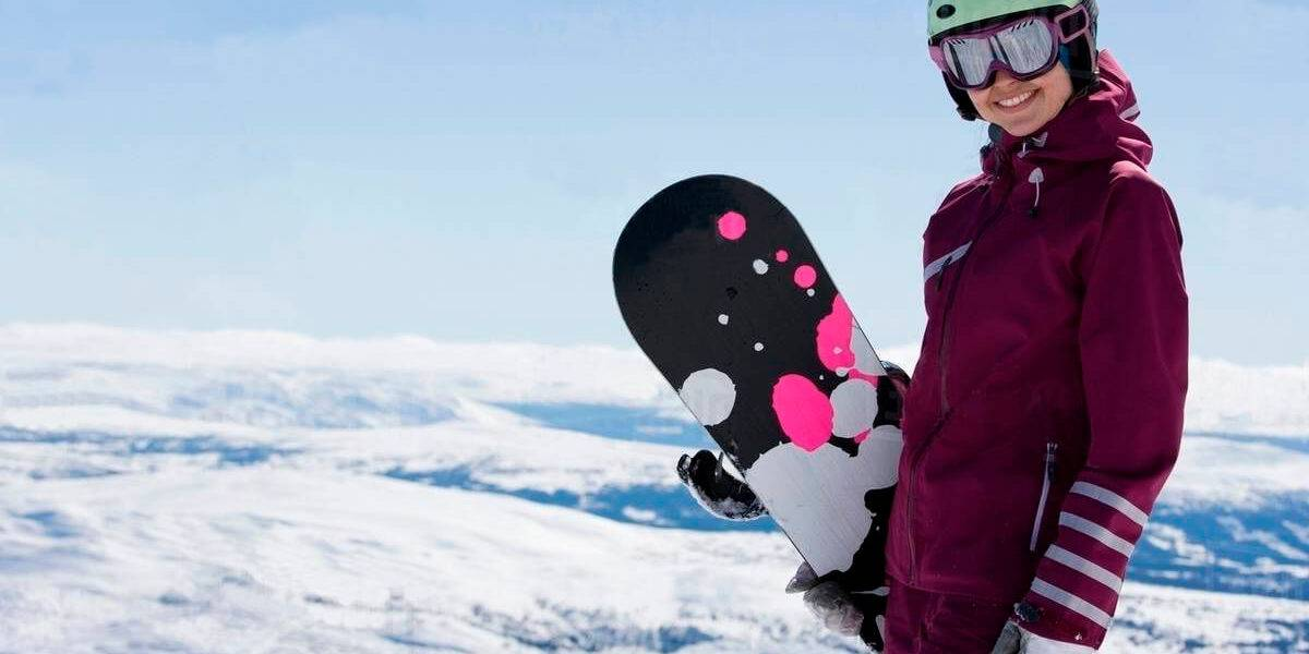 snowboarding for women