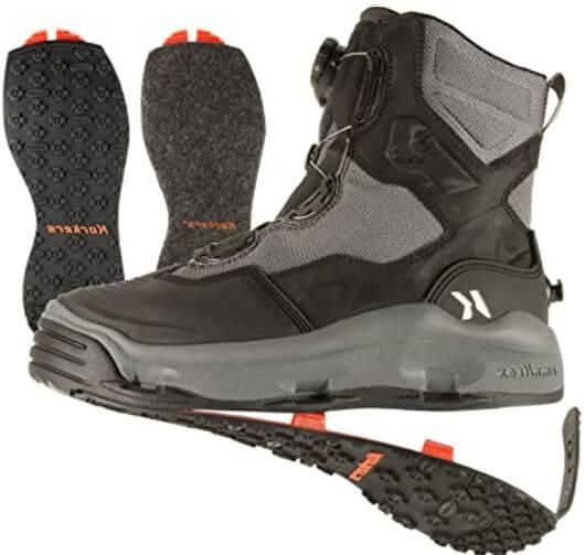 Korkers® Men's DarkHorse Stud Wading Boots