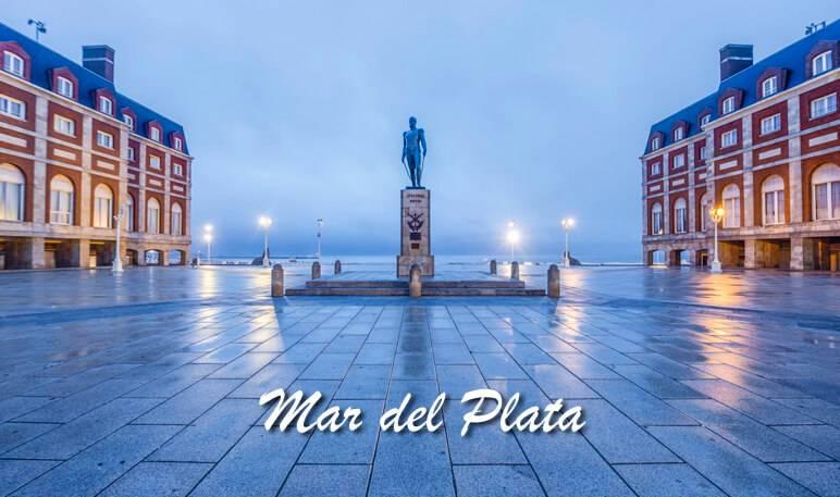 Mar del Plata postcard