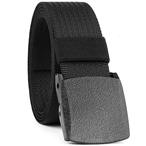 JASGOOD Nylon Canvas Breathable belt for backpacking