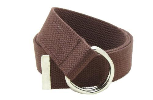 Canvas Web Double D-Ring belt for backpacking