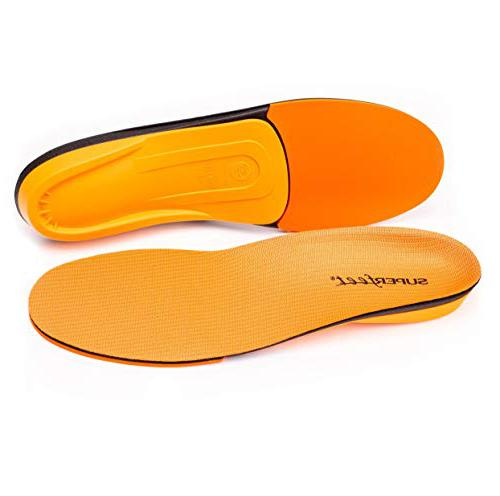 Superfeet ORANGE High Arch Support backpacking insoles