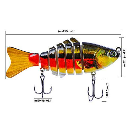 Sunlure Crankbait Fishing Lure bait for northern pike