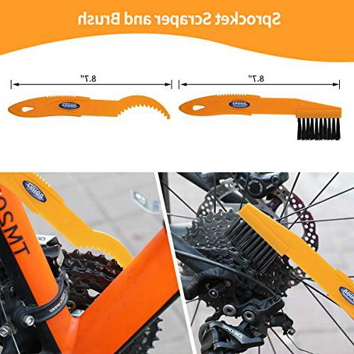 Anndason 8 Pieces bike chain cleaner