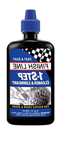 Finish Line 1-Step Bicycle 4 Oz bike chain cleaner