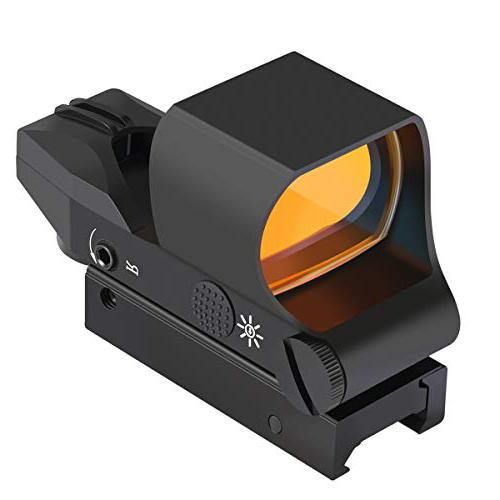 Feyachi RS-30 Reflex Sight, Multiple Reticle System budget red dot scope