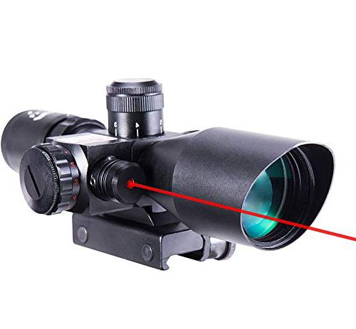 Pinty 2.5-10x40 Tactical Rifle budget red dot scope