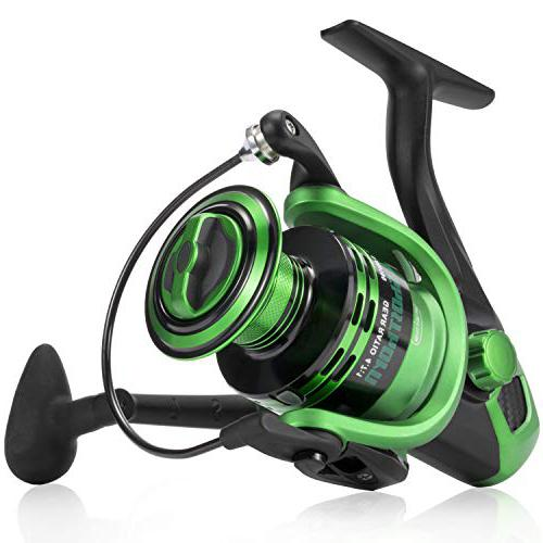 Spinning Fishing Carbon Fiber Drag catfish reel