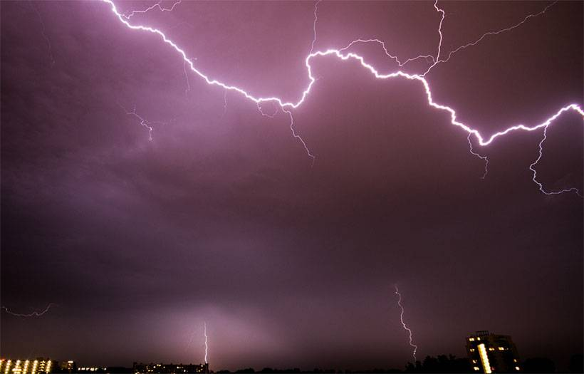 First Aid for Lightning Strikes