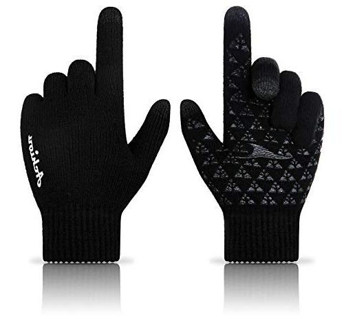 Achiou Winter Touchscreen Thermal hiking gloves