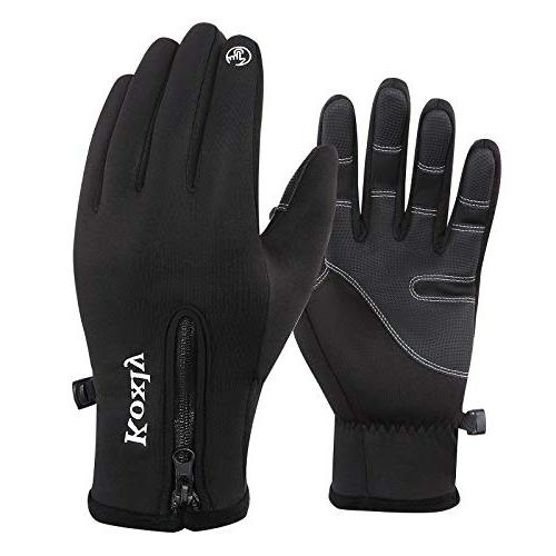 Koxly Winter Gloves Touch Screen Fingers Warm hiking gloves