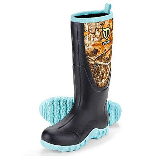 TIDEWE Women's Multi-Season rubber boots