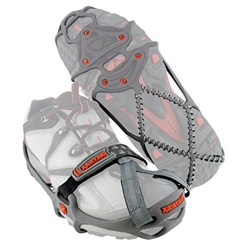 Yaktrax Run Cleats ice traction for shoes