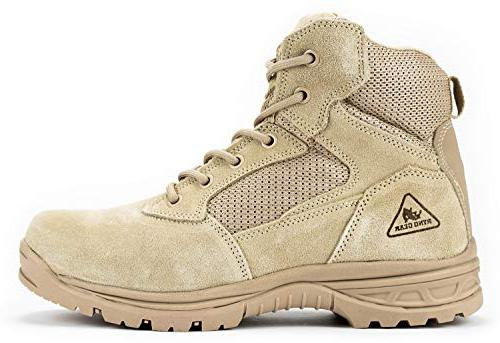 RYNO GEAR Tactical Combat Coolmax Lining tactical boot