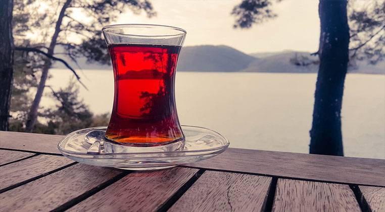 how to make tea in nature