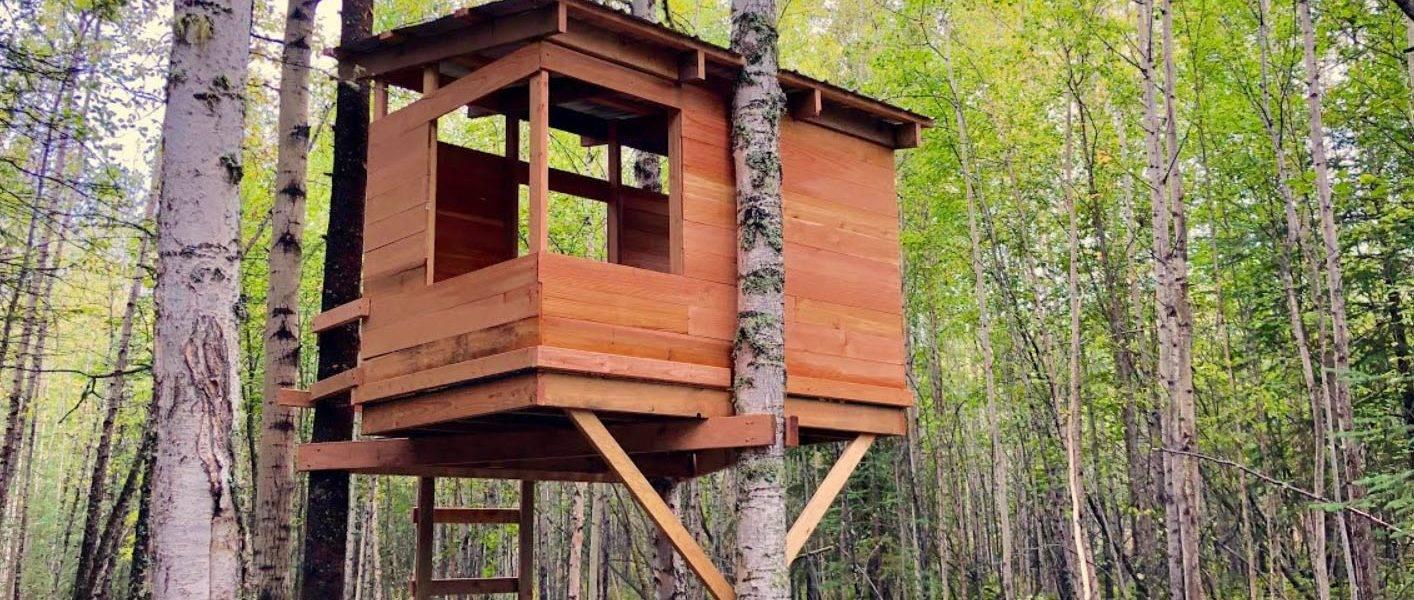 how to make a tree house