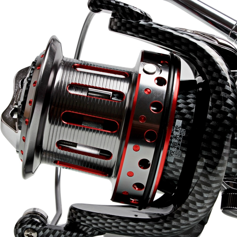 Sougayilang 10000Series Fishing Reel 11BB Super Big Spool Spinning Line Wheel Full Metal Saltwater Boat Rock Fishing Reel Takcle